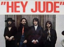Lirik Lagu Hey Jude The Beatles